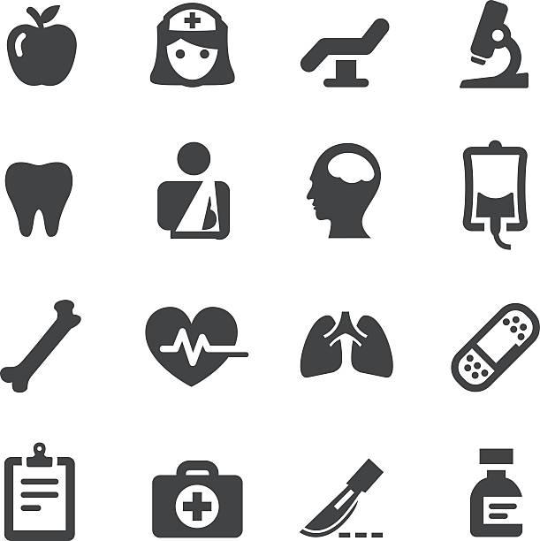 ilustrações de stock, clip art, desenhos animados e ícones de série de ícones de saúde-acme - coração fraco