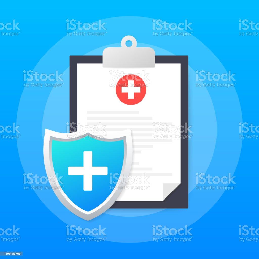 Health insurance. Medical protection, medical insurance concepts....