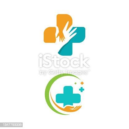 istock Health Medical icon template vector 1347793335