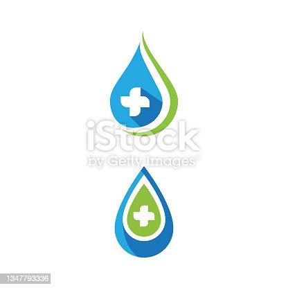 istock Health Medical icon template vector 1347793336