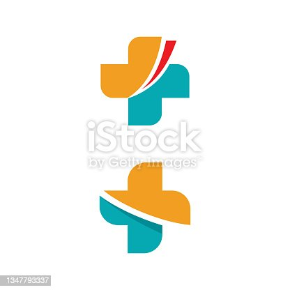 istock Health Medical icon template vector 1347793337