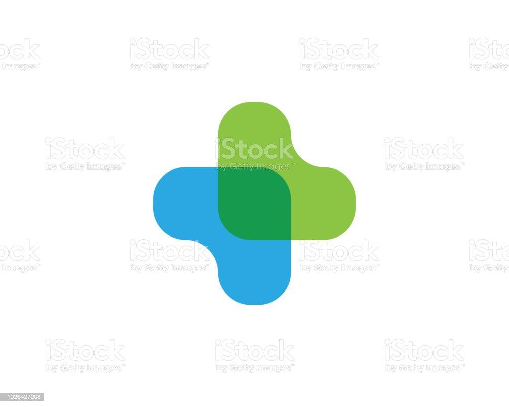 Plantilla de logotipo médico de salud - ilustración de arte vectorial