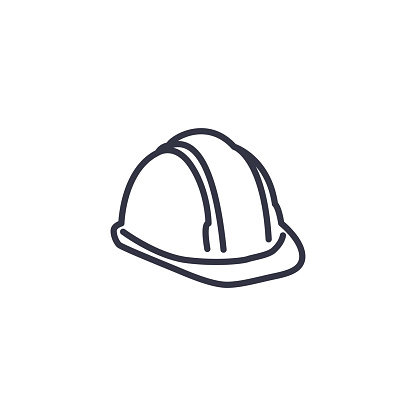 Health Safety, Environment Icon -  the safety side of things
