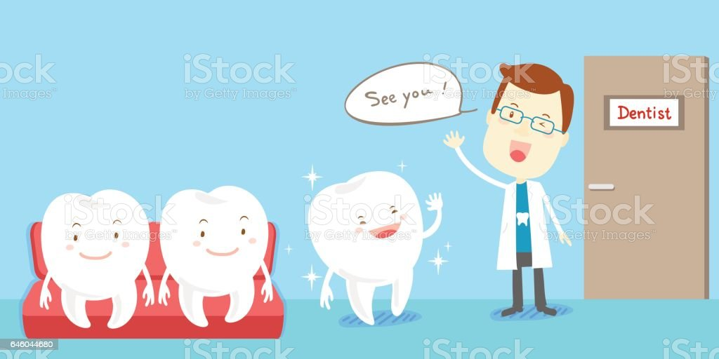 health tooth concept vector art illustration