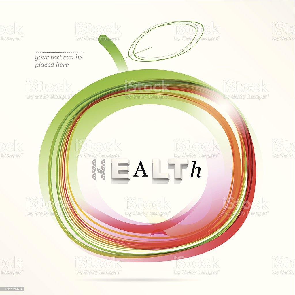 health royalty-free health stock vector art & more images of apple - fruit