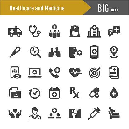 Healthcare and Medicine Icon - Big Series