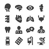 Healthcare and Medicine Icons - Acme Series