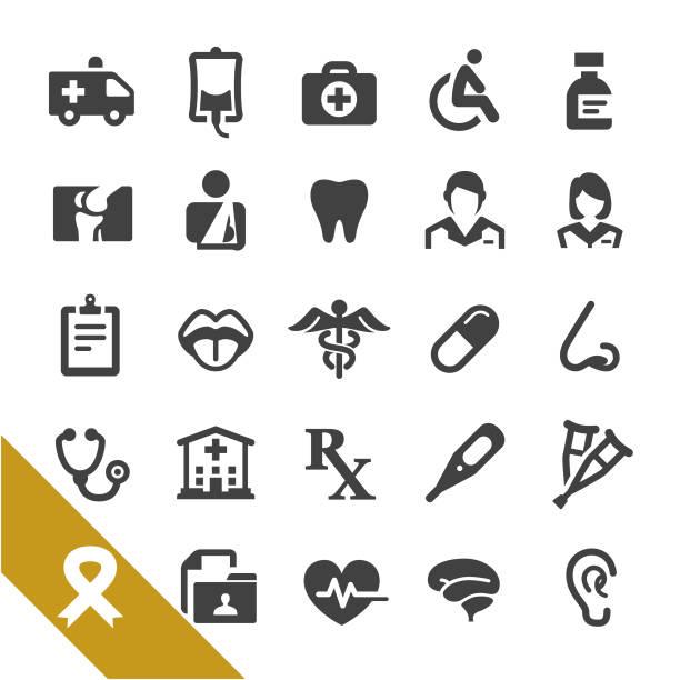 illustrazioni stock, clip art, cartoni animati e icone di tendenza di healthcare and medicine icons - select series - dose