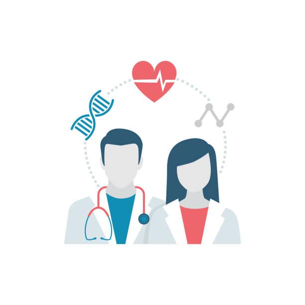 bildbanksillustrationer, clip art samt tecknat material och ikoner med vård och medicin - allmänläkare