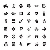 Healthcare And Medicine vector symbols and icons