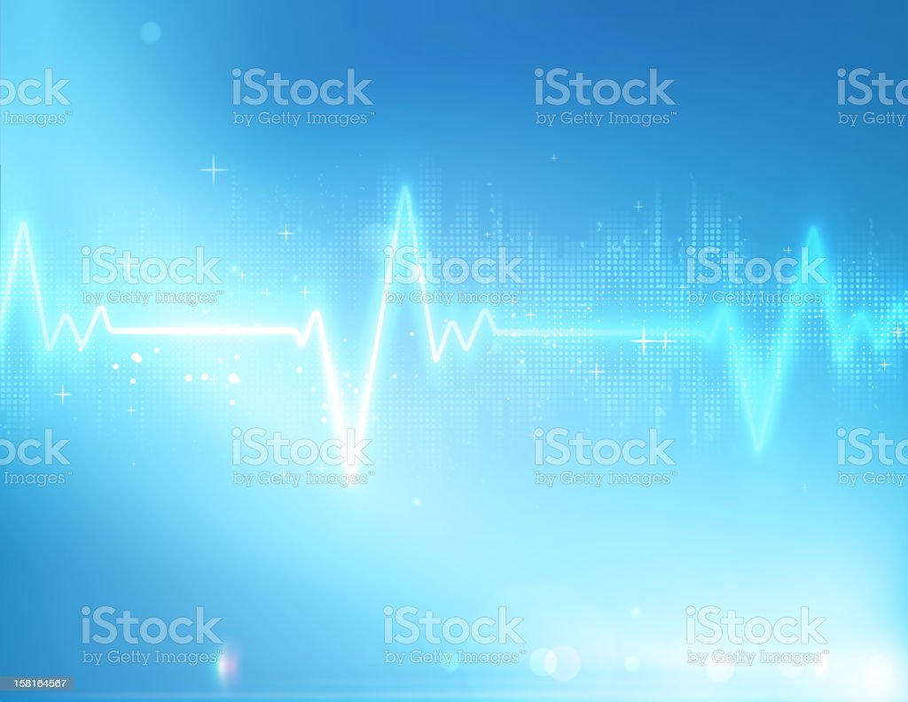 healthcare background vector art illustration