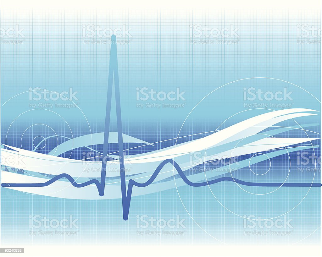 Healthcare background royalty-free stock vector art
