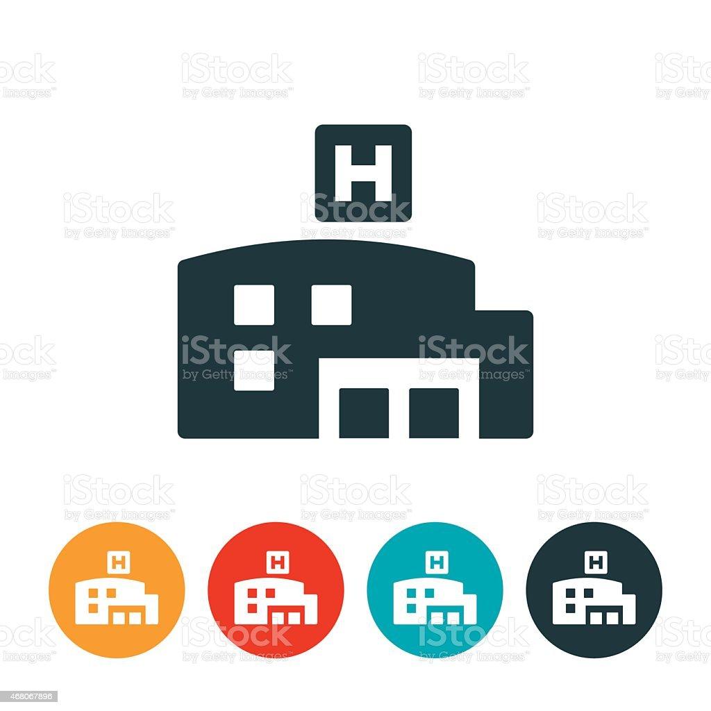Healthcare Clinic Icon vector art illustration