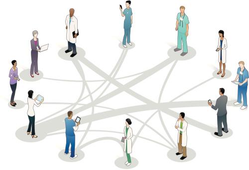 Healthcare Collaboration Illustration