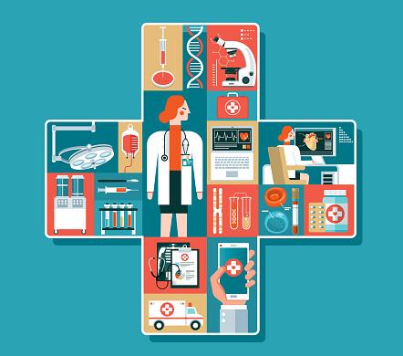 Healthcare - Females doctor