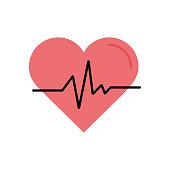 Healthcare Flat Icon. Flat Design Vector Illustration