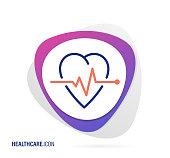 Vector Illustration for Healthcare Icon