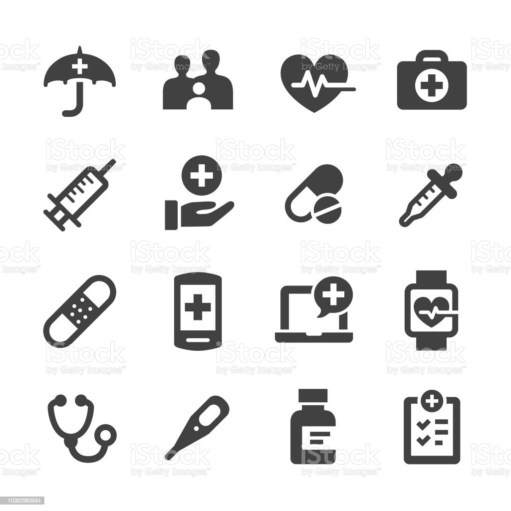 Healthcare Icons - Acme Series vector art illustration