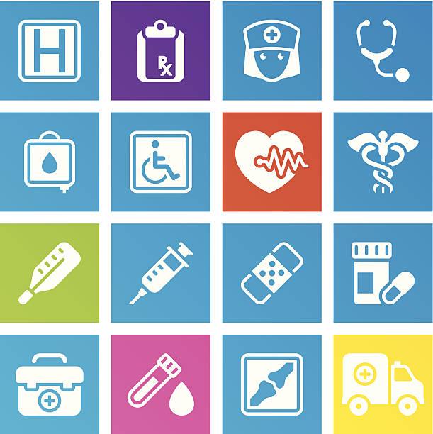 ilustrações, clipart, desenhos animados e ícones de saúde & medicine_trendy series_3 - enfermeira