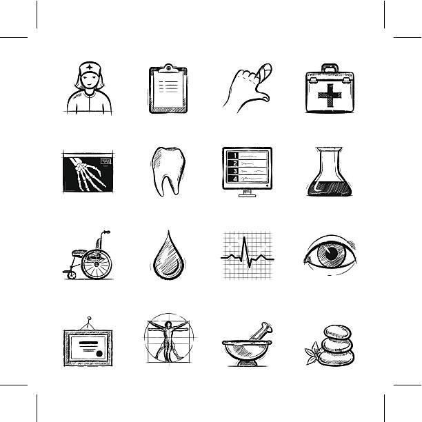 Gesundheitswesen, Teil 1 – Vektorgrafik