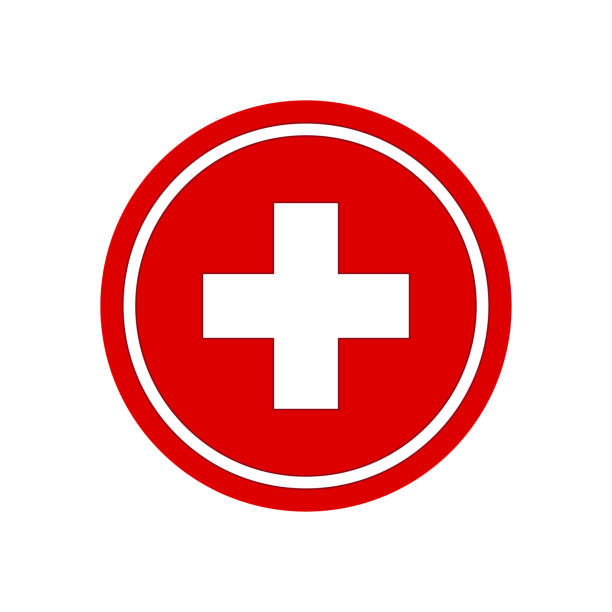Healthcare plus sign. Medical symbol vector Healthcare plus sign. Medical symbol vector accidents and disasters stock illustrations