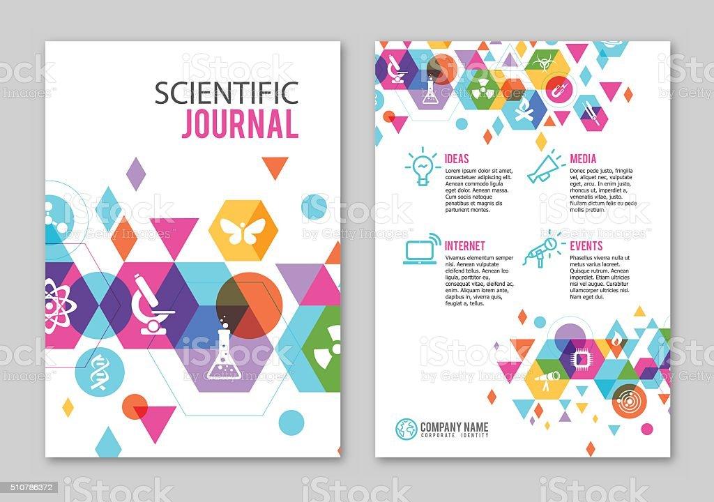 Healthcare print design vector art illustration
