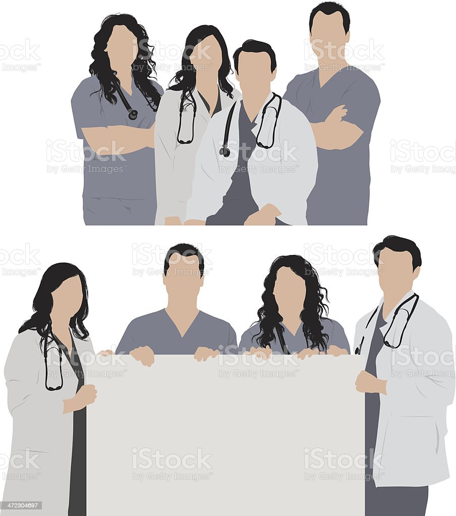 Healthcare workers royalty-free healthcare workers stock vector art & more images of adult