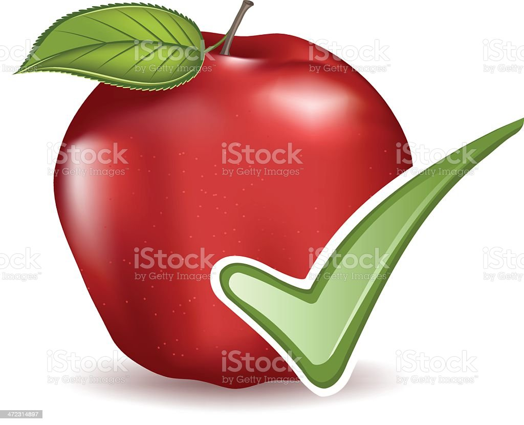 Healthy Choice royalty-free stock vector art