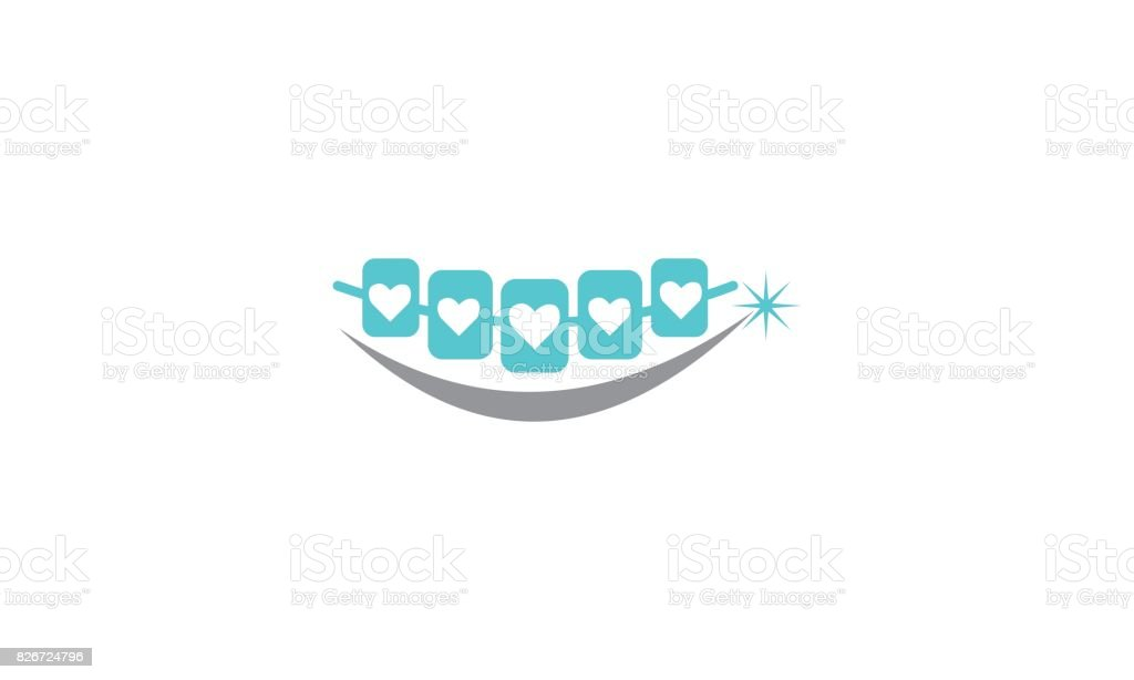 Healthy Dental Care vector art illustration