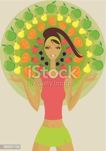 istock Healthy diet - fruits. 165531104