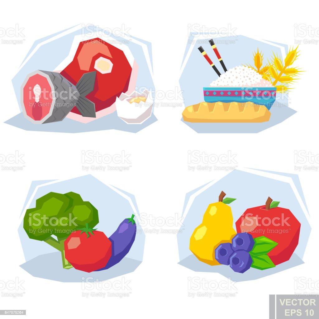 00c928cf4 Conselhos de nutrição moderna comida infográficos dieta saudável. frutas