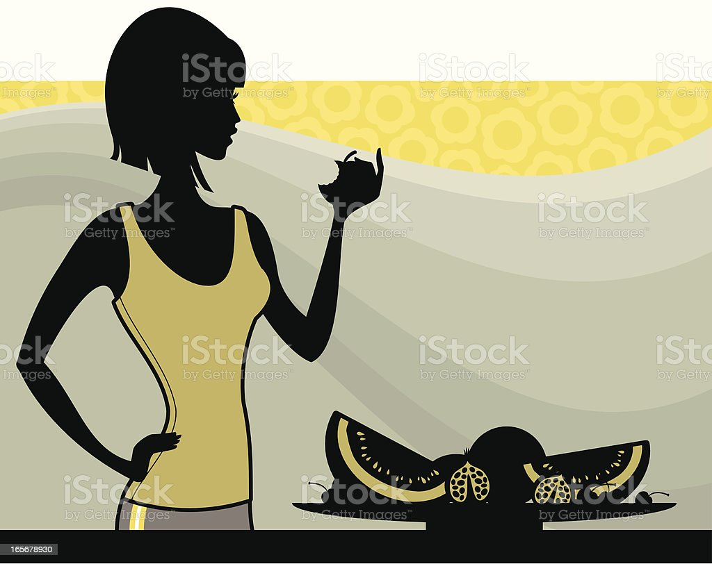 Healthy Diet royalty-free stock vector art
