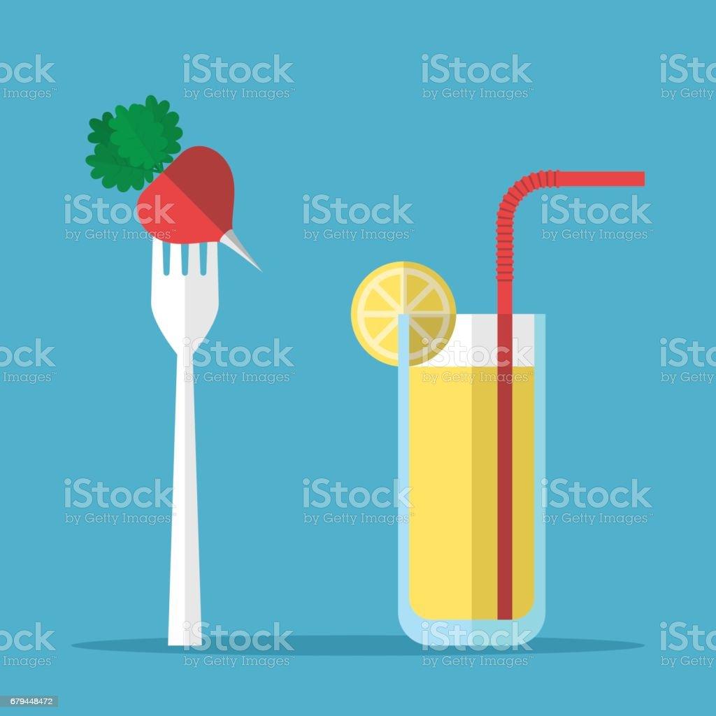 Healthy eating, radish, juice royalty-free healthy eating radish juice stock vector art & more images of abstract