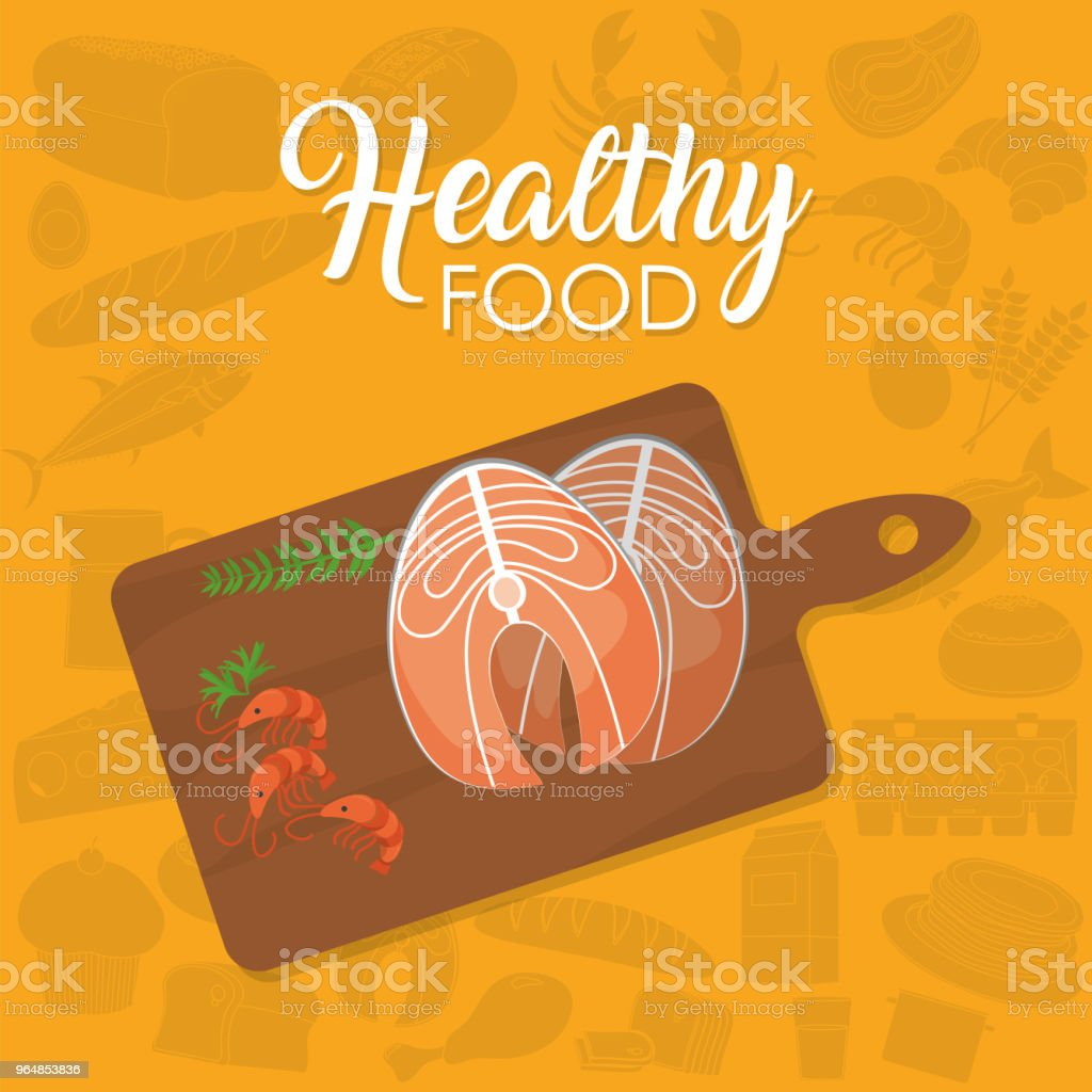Healthy food concept royalty-free healthy food concept stock vector art & more images of cartoon