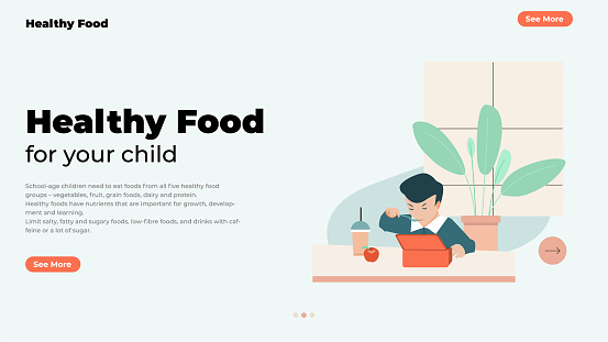 Healthy food for your child.