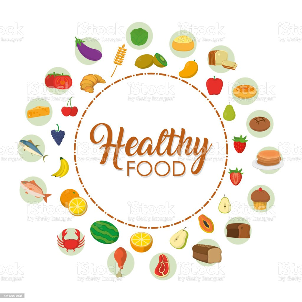Healthy food icons royalty-free healthy food icons stock vector art & more images of bakery