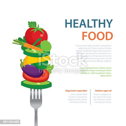 istock healthy food on the fork  diet concept fruits and vegetables 481404460