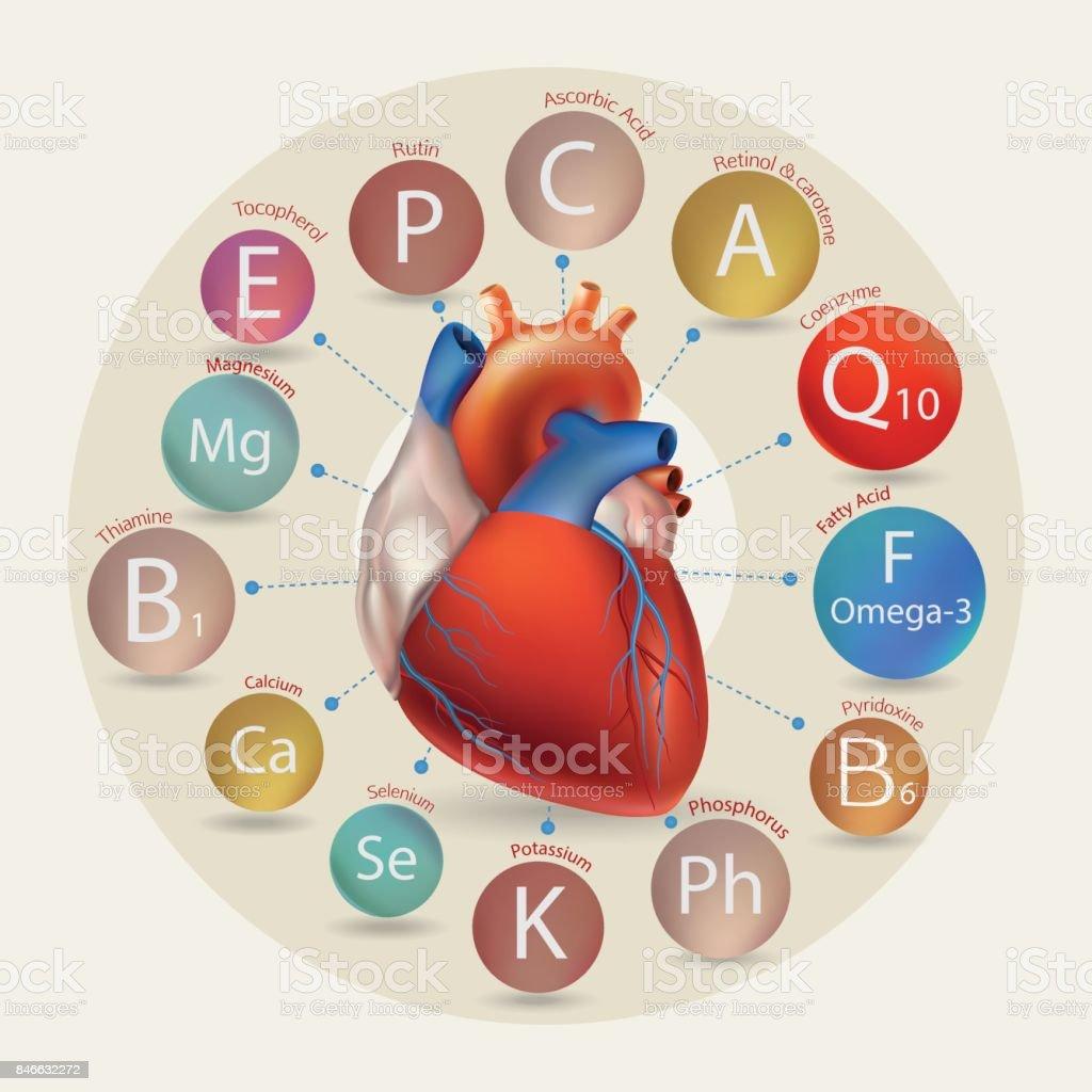 Healthy Heart. векторная иллюстрация