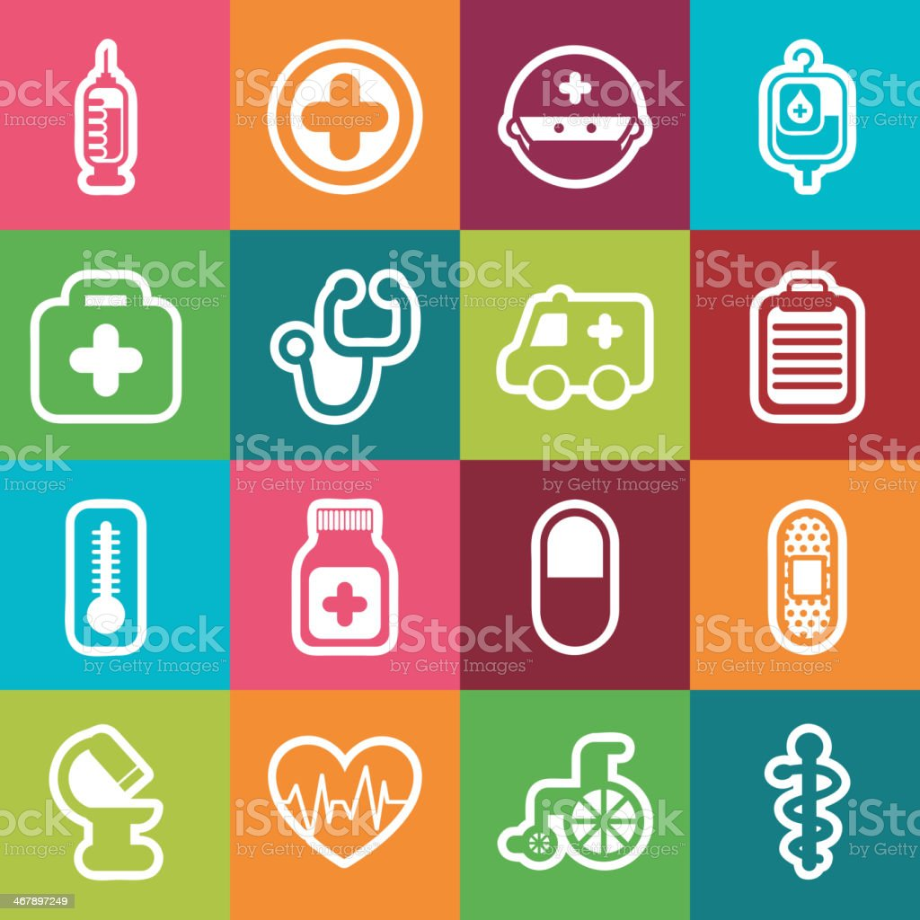Healthy Icons royalty-free healthy icons stock vector art & more images of accidents and disasters