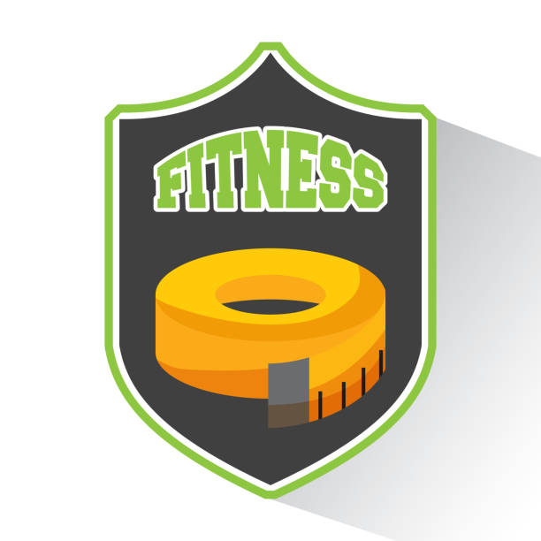 healthy lifestyle concept icons vector art illustration