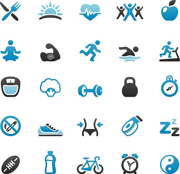 gesunder lifestyle - schwimmpflanzen stock-grafiken, -clipart, -cartoons und -symbole