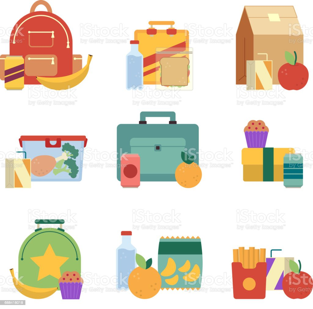 royalty free lunch box clip art vector images illustrations istock rh istockphoto com lunch box clipart images empty lunch box clipart