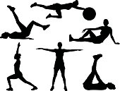 Healthy silhouettes