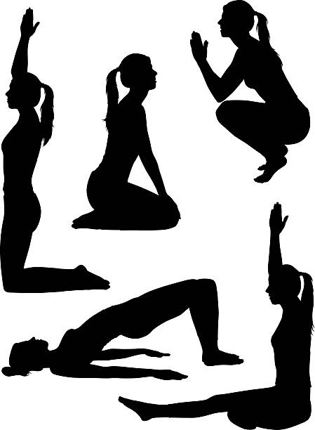 Healthy yoga silhouettes A collection of women silhouettes doing yoga.  Click here to see more [url=/file_search.php?action=file&lightboxID=2635336]healthy illustrations[/url]  You may also like these files: [url=/file_search.php?action=file&lightboxID=872244]Dance Silhouettes and Illustrations[/url] [url=file_closeup.php?id=11566451][img]file_thumbview_approve.php?size=1&id=11566451[/img][/url] [url=file_closeup.php?id=11573052][img]file_thumbview_approve.php?size=1&id=11573052[/img][/url] [url=file_closeup.php?id=11568232][img]file_thumbview_approve.php?size=1&id=11568232[/img][/url] [url=file_closeup.php?id=11566738][img]file_thumbview_approve.php?size=1&id=11566738[/img][/url] active lifestyle stock illustrations