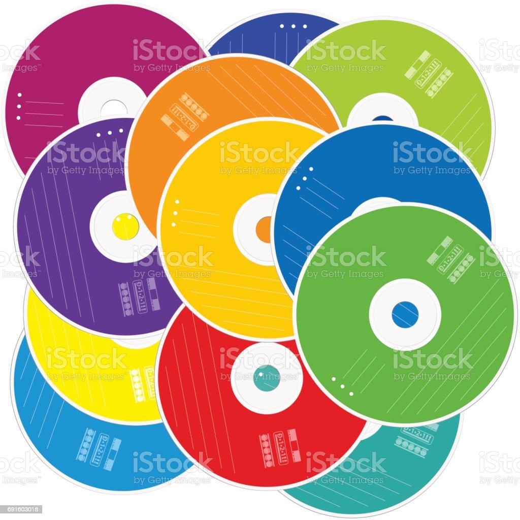 royalty free dvd stack clip art vector images illustrations istock rh istockphoto com dvd player clipart christmas dvd clip art