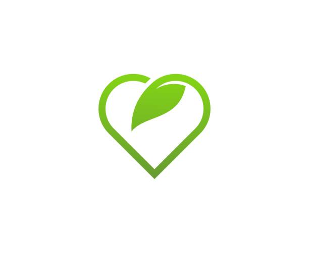 Hear-Blatt-Logo – Vektorgrafik