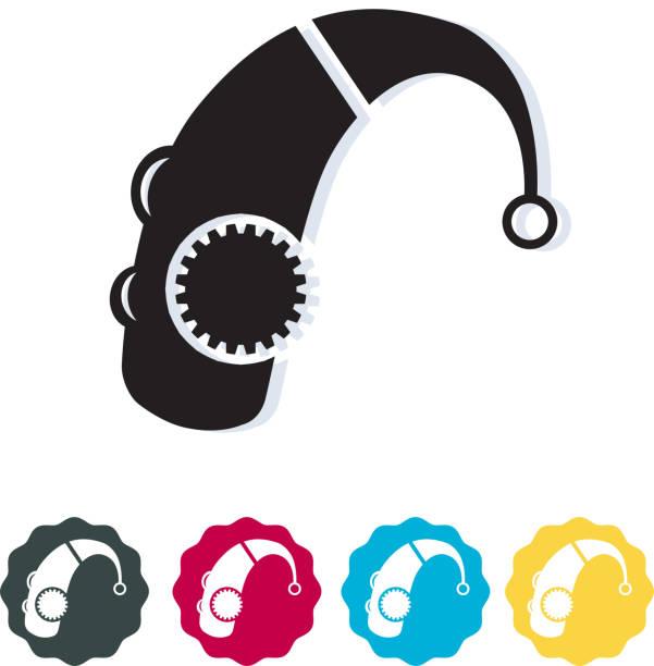 hearing aid icon - hearing aid 幅插畫檔、美工圖案、卡通及圖標