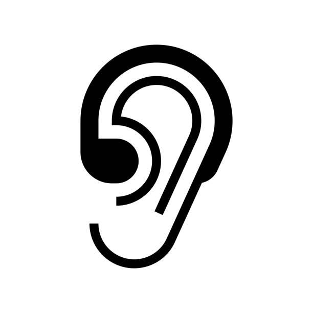 助聽器圖示 - hearing aid 幅插畫檔、美工圖案、卡通及圖標