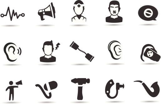 Hearing Loss Icons