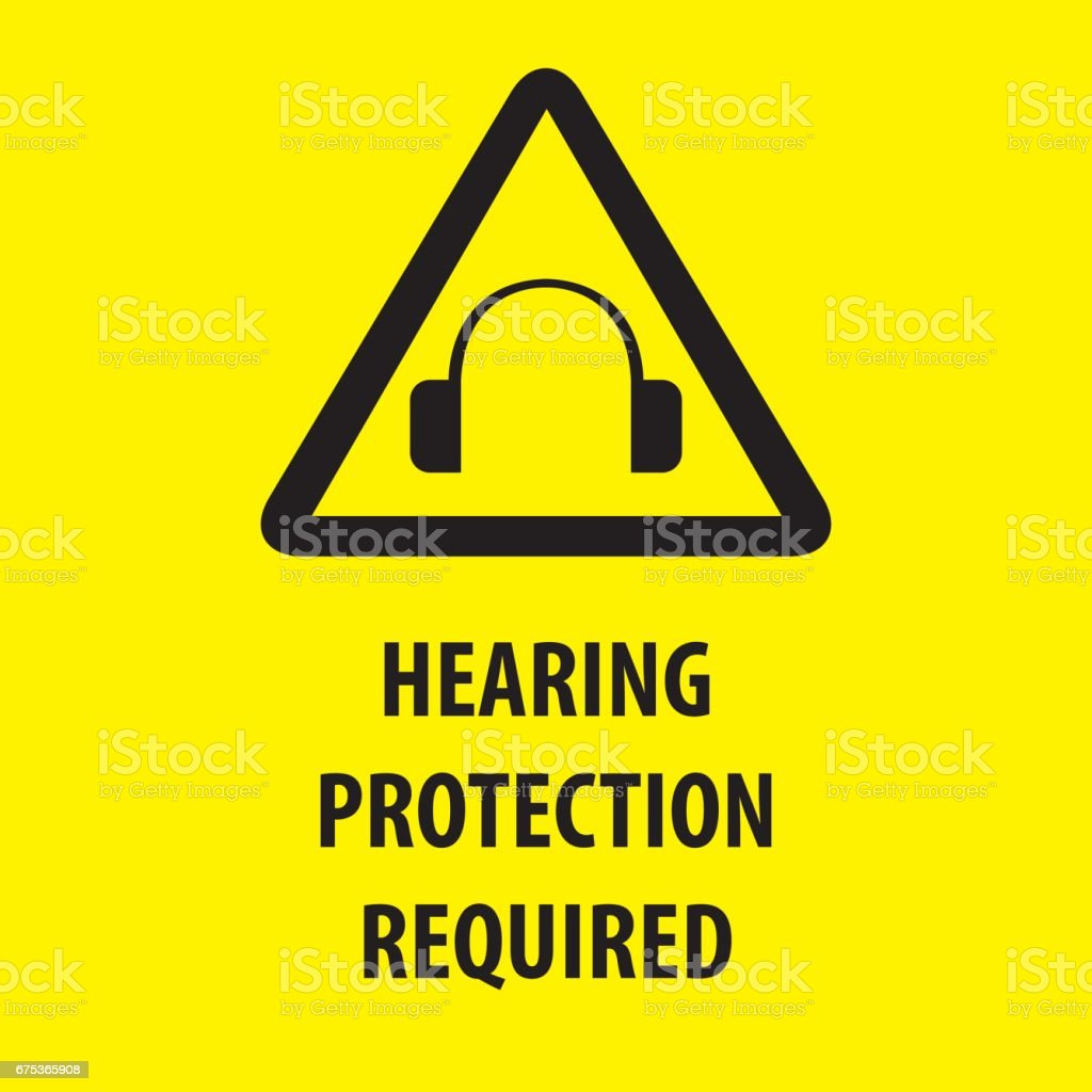 Hearing Protection Stock Vector Art More Images Of Business
